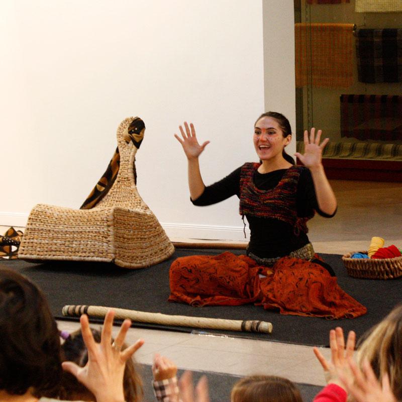 el efecto Galatea, talleres de arte, Museo Antropología Madrid