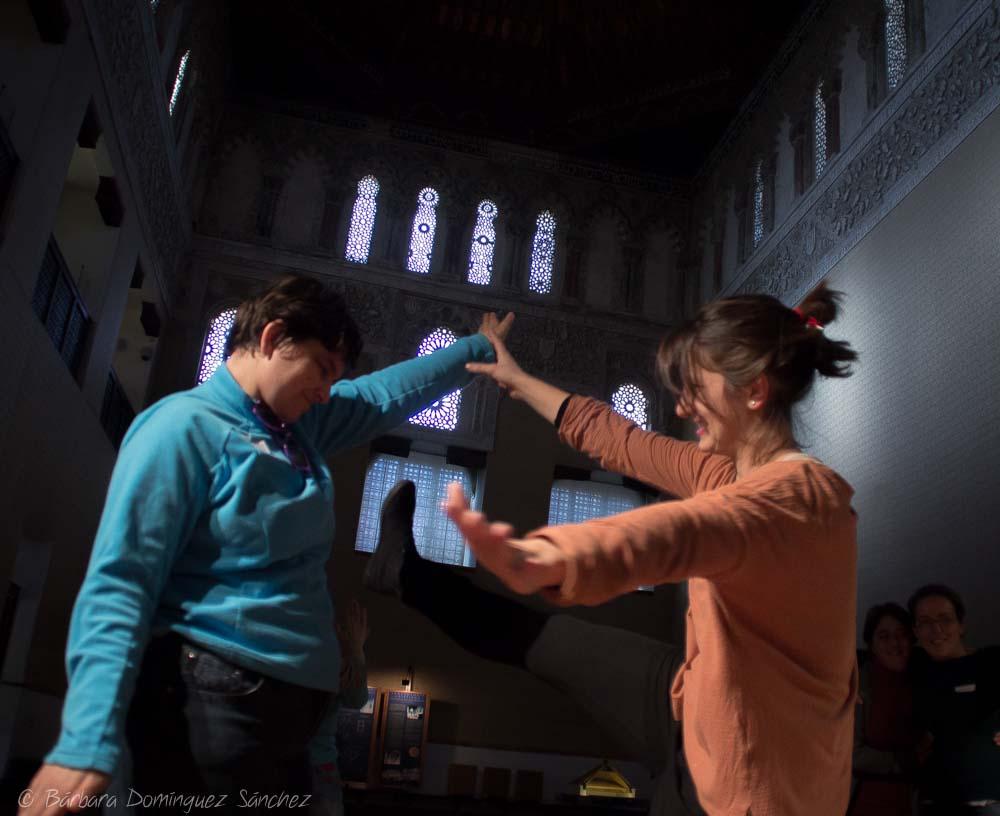 El efecto Galateo, Taller de Danza y Diversidad. Asociacion Dan Zass